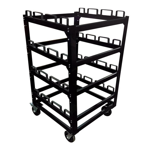 12 Post Storage Cart