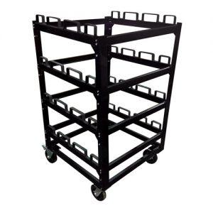 12 Post Storage Cart