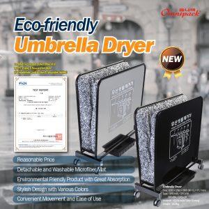 Eco-friendly umbrella dryer