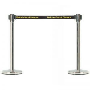 Maintain Social Distance Barriers