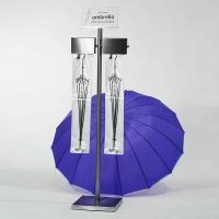 Milano Wet Umbrella Bag Stand with Bags